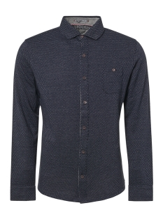 NO-EXCESS Overhemd ALL OVER PRINTED SHIRT 92410809 078 NIGHT