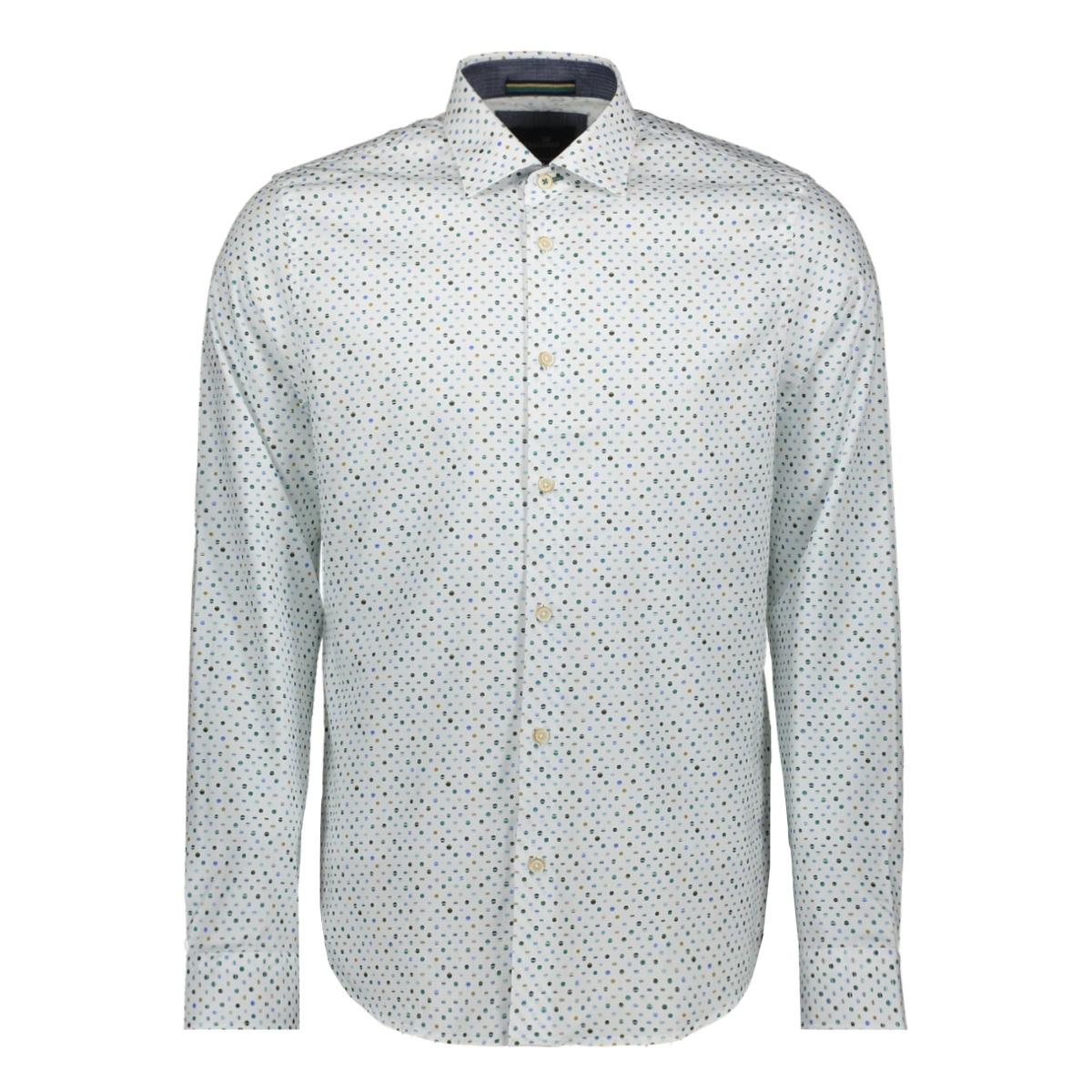 long sleeve poplin print shirt vsi196402 vanguard overhemd 7003