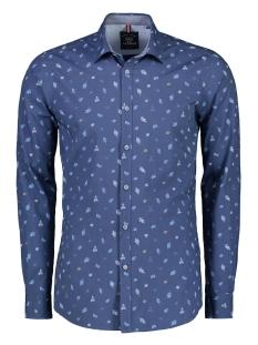 overhemd met allover print 2971016 lerros overhemd 448