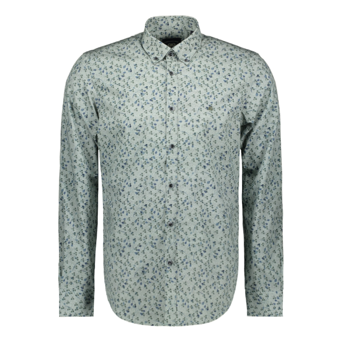 overhemd met all over print 2971121t lerros overhemd 643