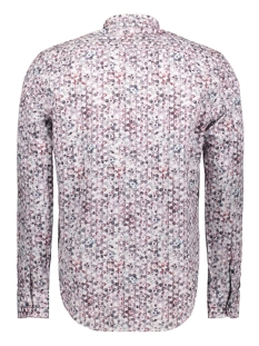 overhemd met all over print 2971123t lerros overhemd 878