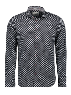 NO-EXCESS Overhemd ALL OVER PRINTED STRETCH SHIRT 92480802 078 NIGHT
