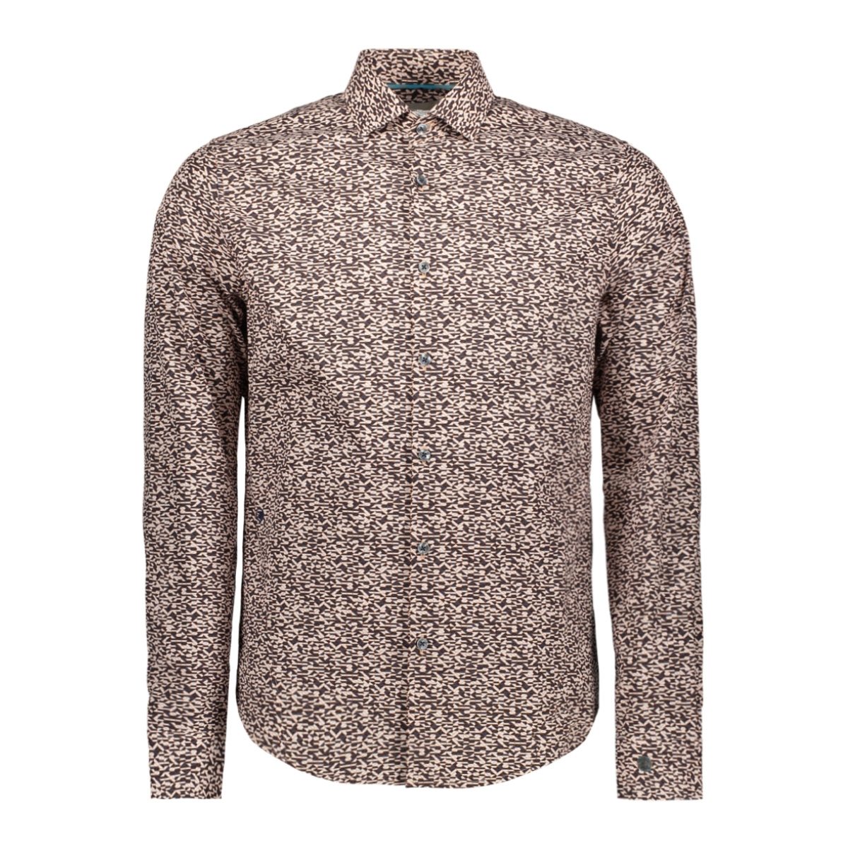 print outline car shirt csi196631 cast iron overhemd 2114