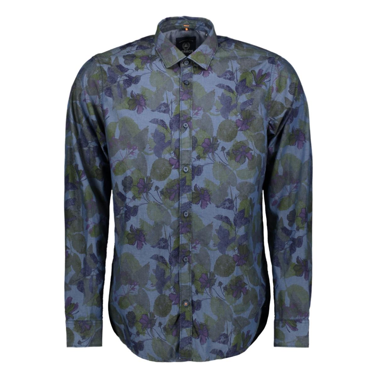 lange mouw overhemd 2981035 lerros overhemd 448