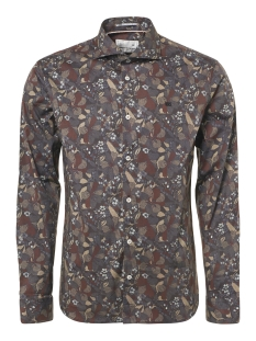 allover printed stretchshirt 92410917 no-excess overhemd 160