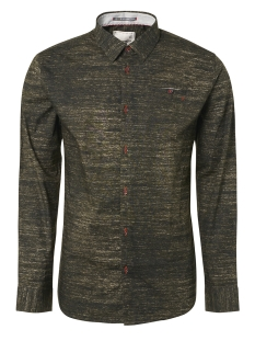 NO-EXCESS Overhemd ALL OVER PRINTED STRETCH SHIRT 92430907 059