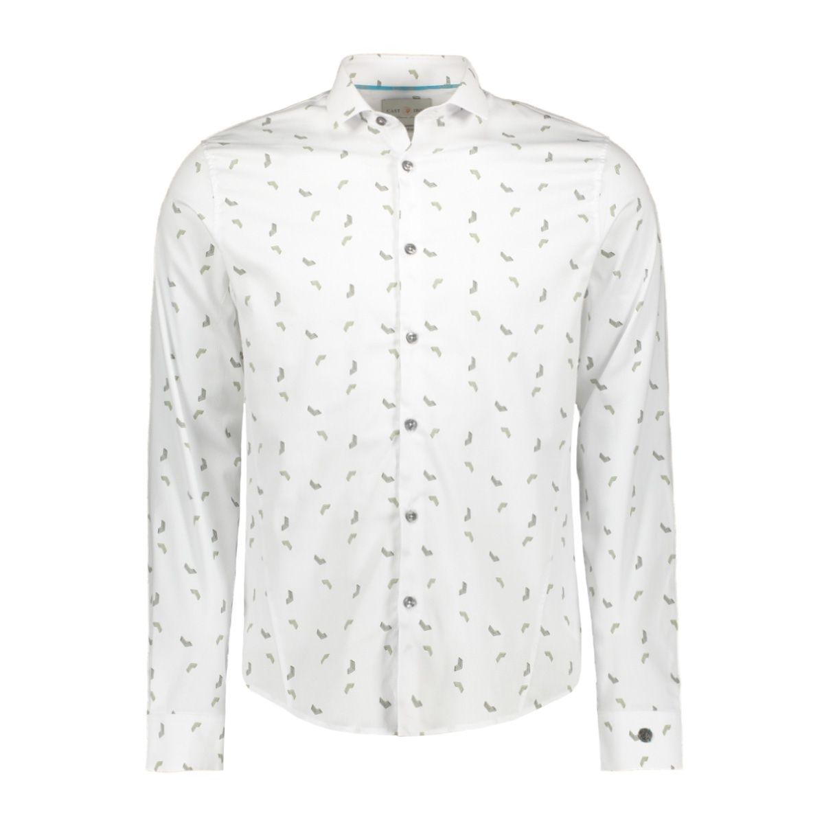 spray grid shirt csi197638 cast iron overhemd 7003