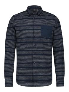 Kultivate Overhemd ST VERT STRIPE 1901040005 319 DARK NAVY