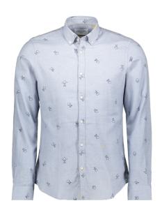 New in Town Overhemd GEMELEERD OVERHEMD MET PRINT 8991129 405