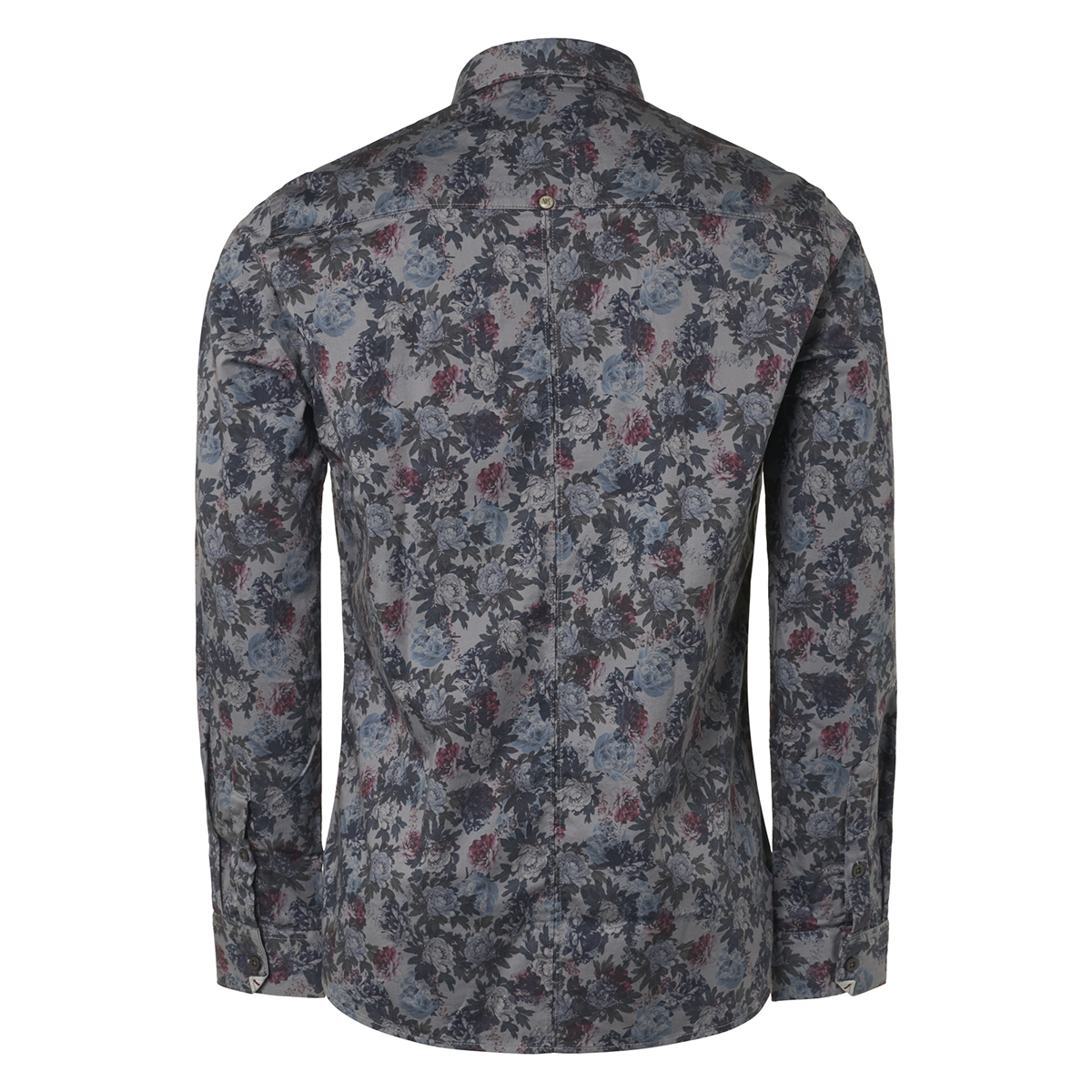 all over printed stretch shirt 93481005 no-excess overhemd 078 night