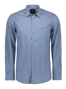 overhemd met karabijn haak print 29n1086 lerros overhemd 483