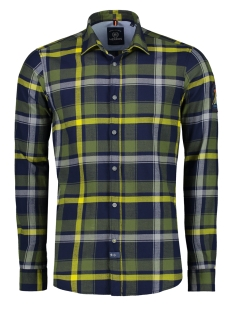 Lerros Overhemd GERUIT FLANELLEN OVERHEMD 29N1089 643