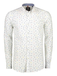 overhemd met minimal print 29n1187 lerros overhemd 222