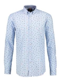overhemd met minimal print 29n1187 lerros overhemd 413