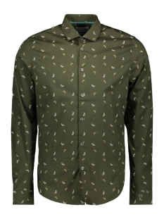 printed shirt csi198658 cast iron overhemd 6153