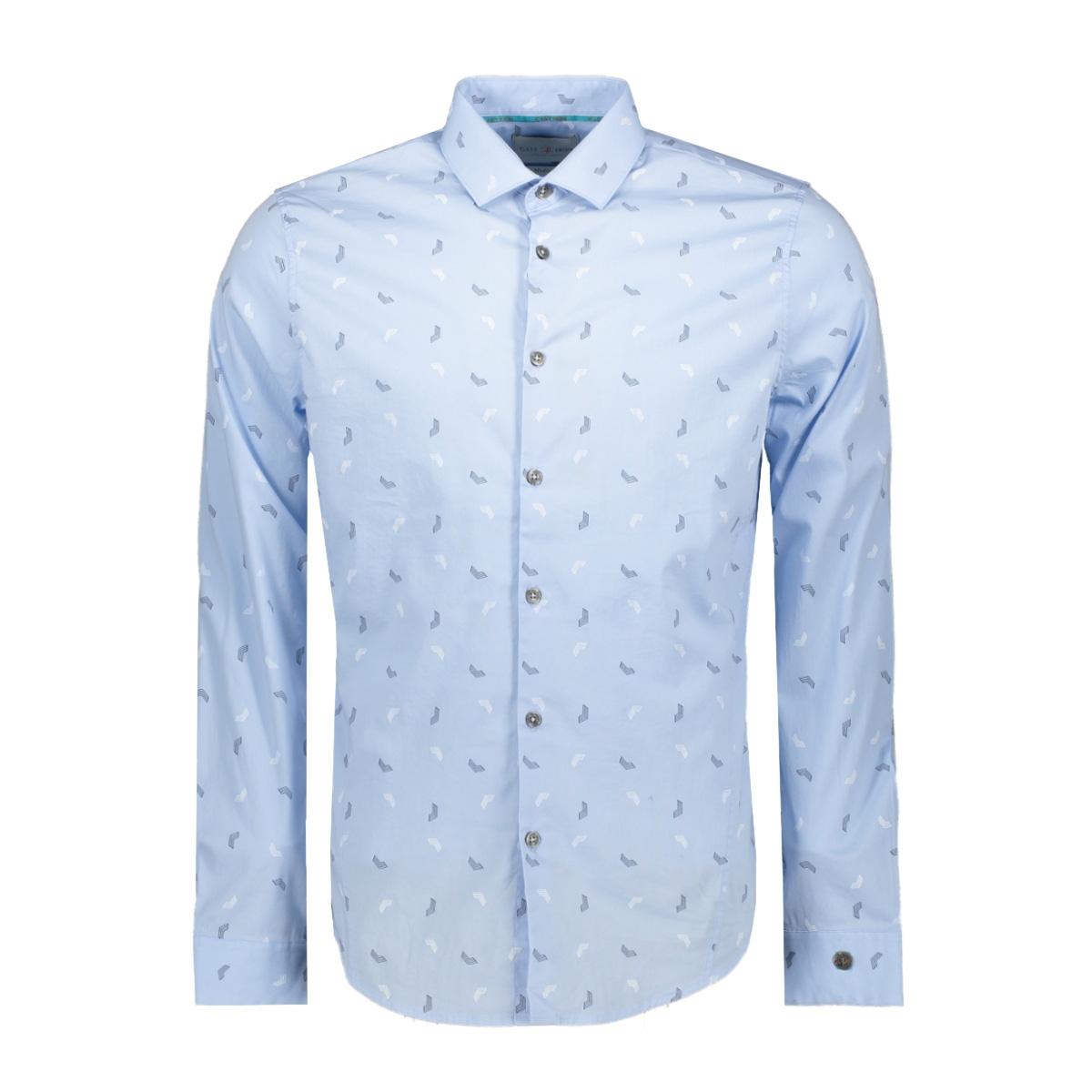 printed shirt csi198658 cast iron overhemd 5300