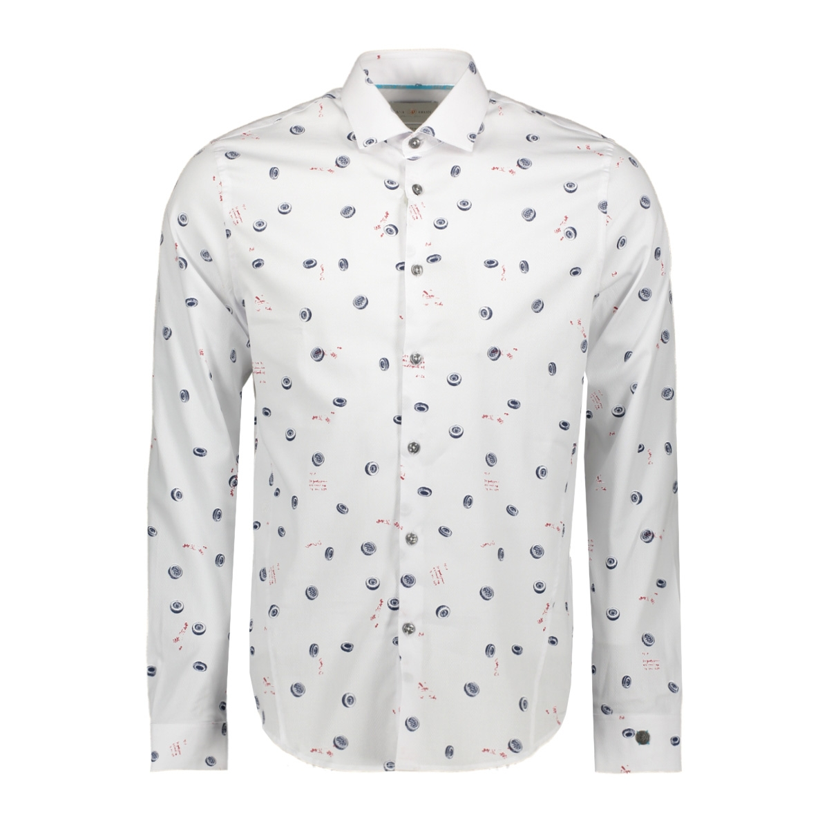 print tire shirt csi198644 cast iron overhemd 7003