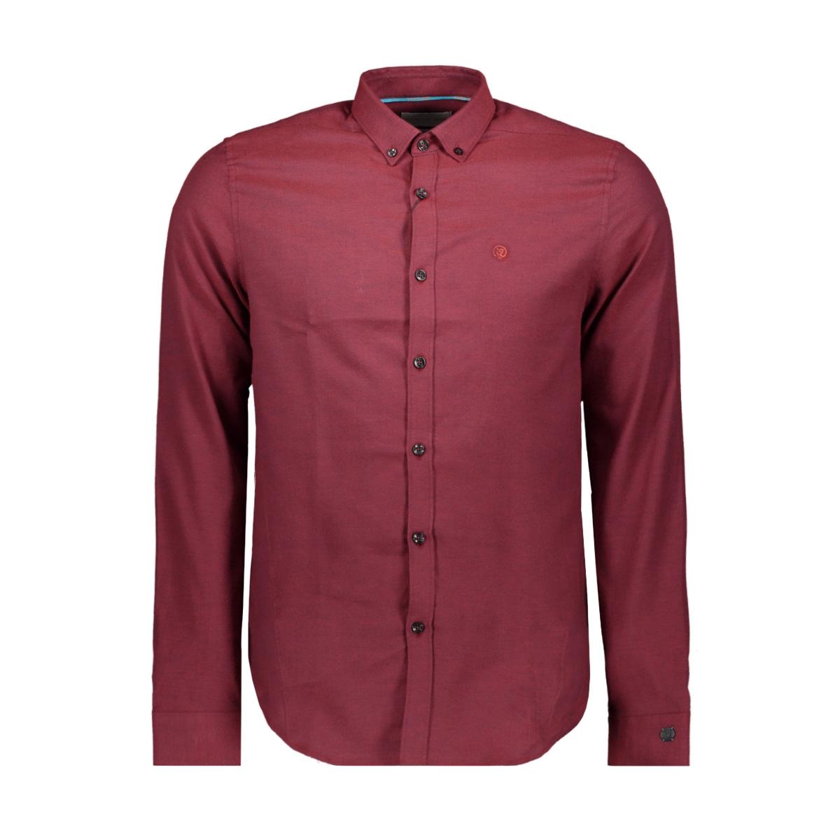 oxford shirt csi198654 cast iron overhemd 3181