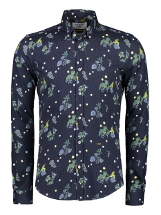 New in Town Overhemd OVERHEMD MET BLOEMMOTIEF 89N1116 494