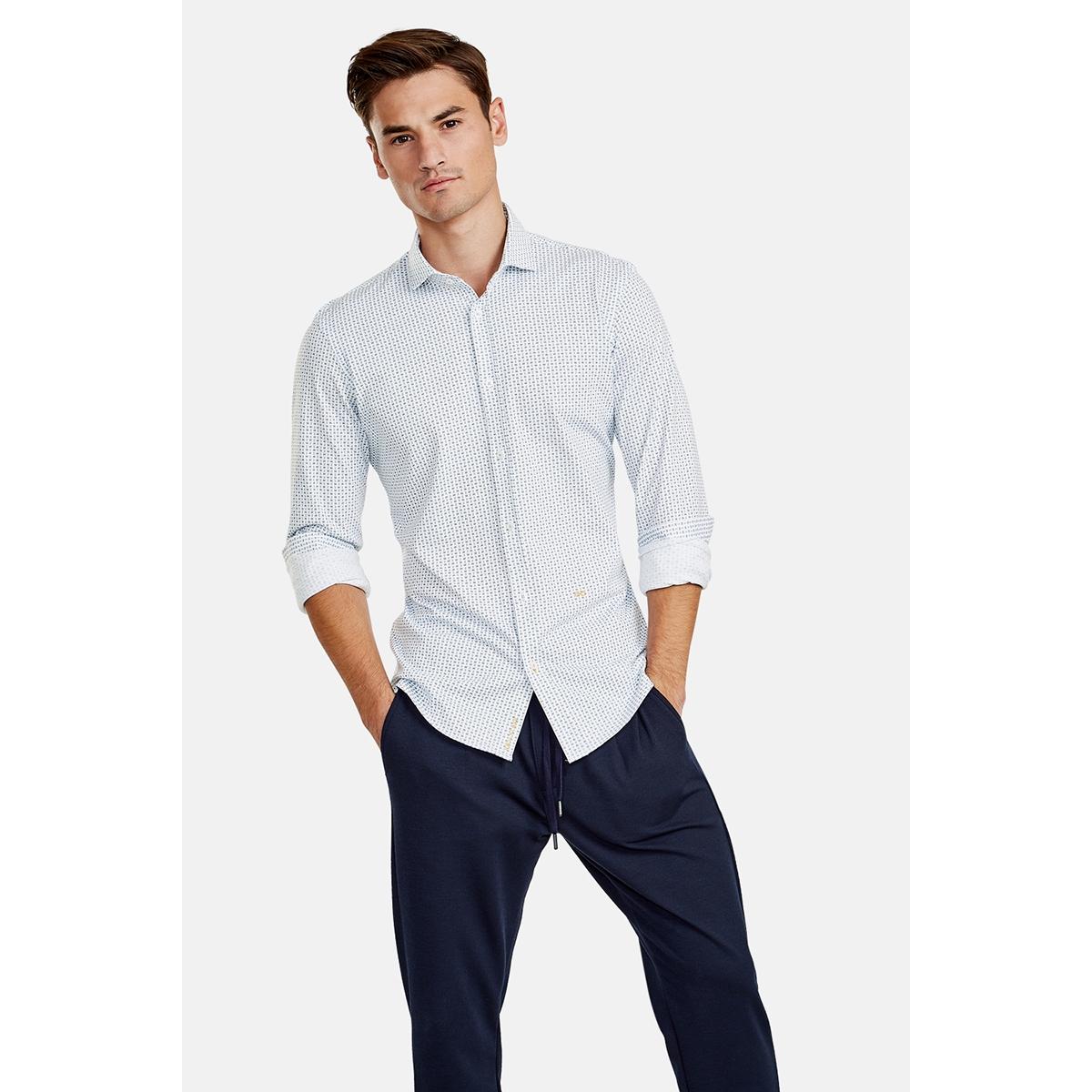 overhemd met streeppatroon 89n1311 new in town overhemd 475