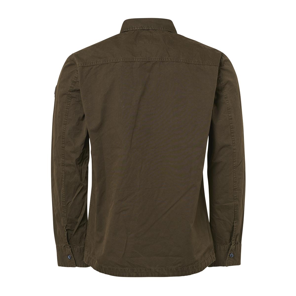 full zip overshirt 92410812 no-excess overhemd 059 dk army