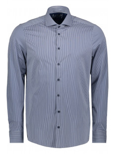 Pure H. Tico Overhemd SHIRT LONGSLEEVE 4028 21750 163 BLUE STRIPED