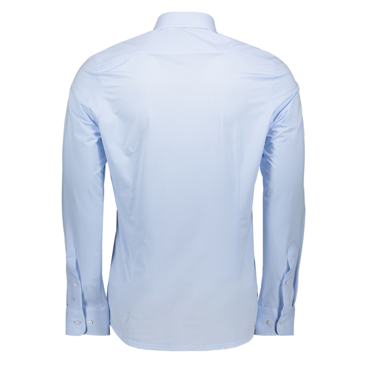 shirt longsleeve 4028 21750 pure h. tico overhemd 100 uni light blue