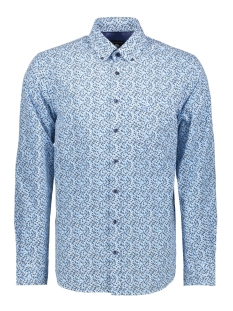 Campbell Overhemd CASUAL OVERHEMD LM 052892 348 AQUA PRINT
