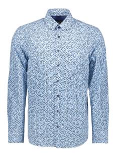 casual overhemd lm 052892 campbell overhemd 348 aqua print