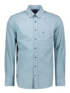 Campbell Overhemd CASUAL OVERHEMD LM 052886 408 GROEN PRINT