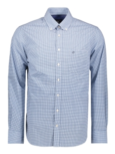 Campbell Overhemd CASUAL OVERHEMD LM 052881 308 BLAUW PRINT