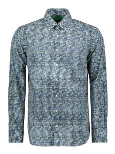 Campbell Overhemd CASUAL OVERHEMD LM 052896 408 GROEN PRINT