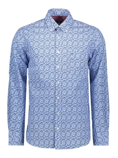 Campbell Overhemd CASUAL OVERHEMD LM 052900 308 BLAUW PRINT