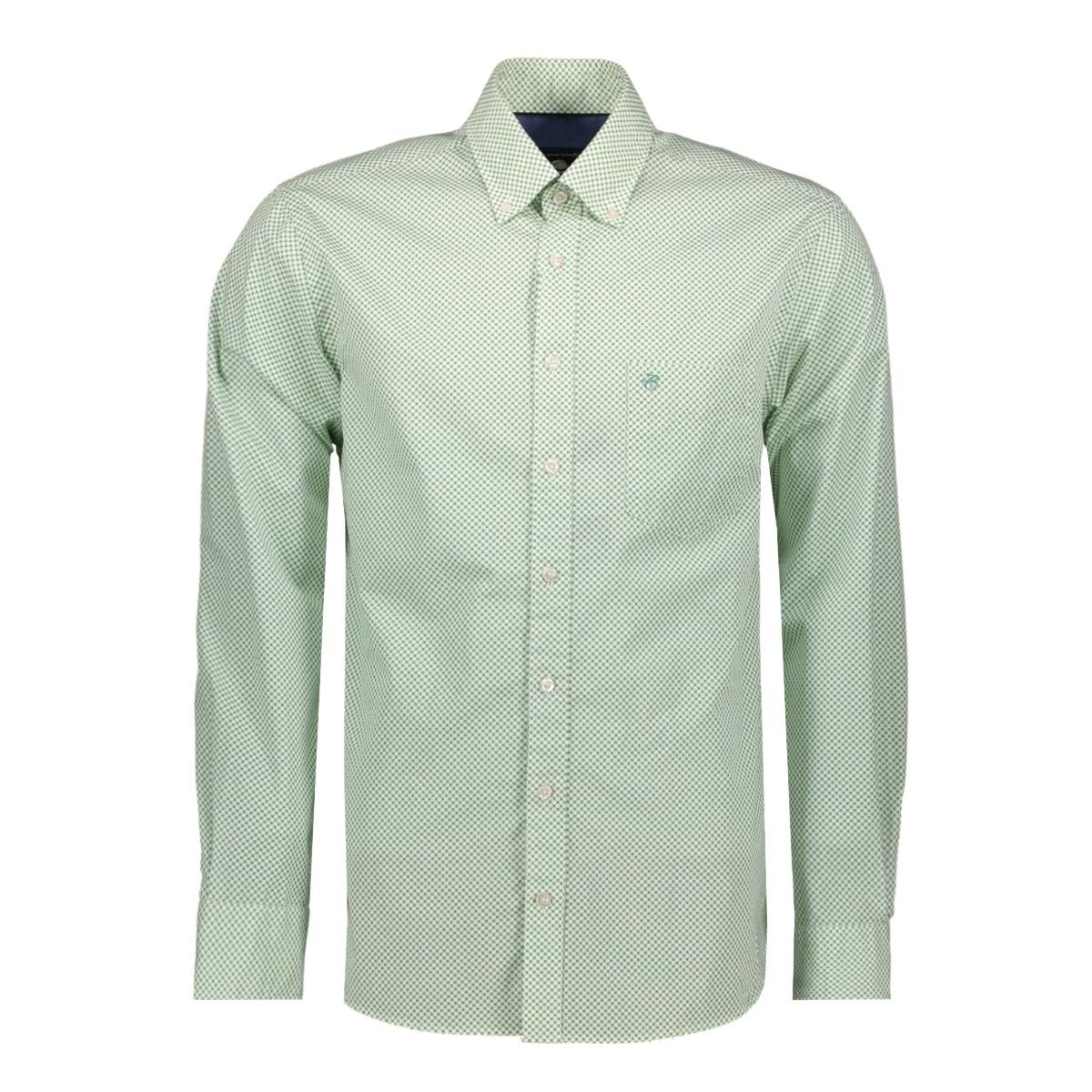 casual overhemd lm 052889 campbell overhemd 408 groen print