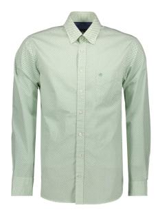 Campbell Overhemd CASUAL OVERHEMD LM 052889 408 GROEN PRINT