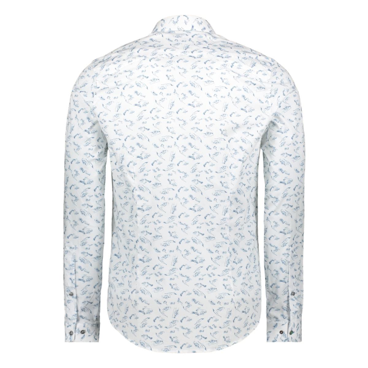 printed shirt csi201600 cast iron overhemd 7003