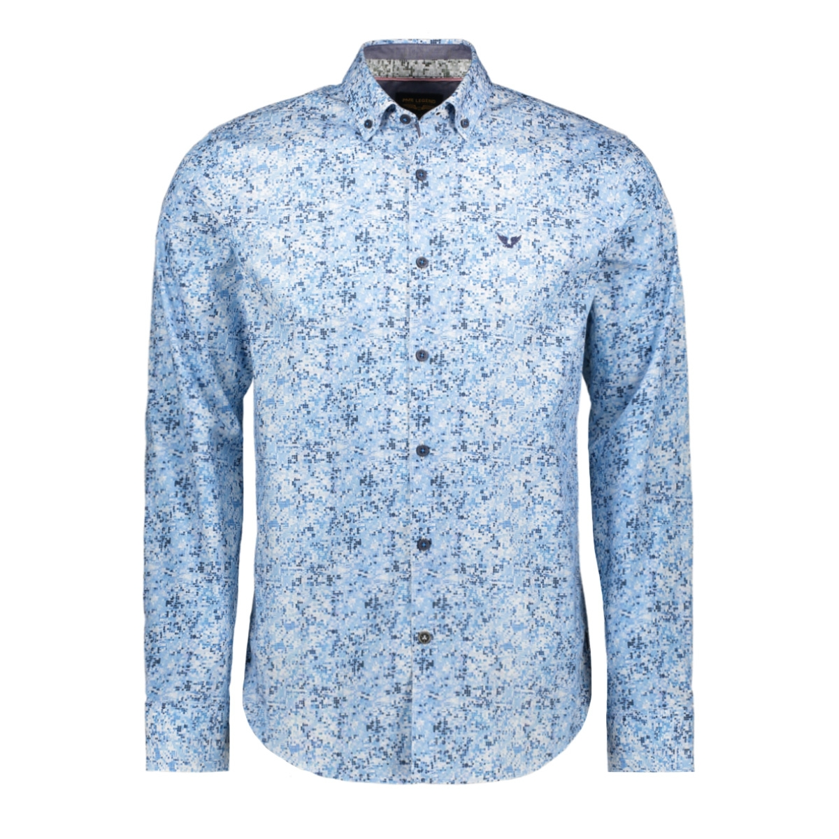 long sleeve poplin shirt psi201218 pme legend overhemd 5177