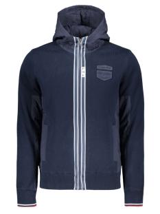 hooded knit jacket pkc201350 pme legend jas 5287