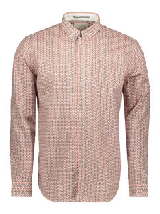 printed stretch shirt 90480165 no-excess overhemd 160 brick