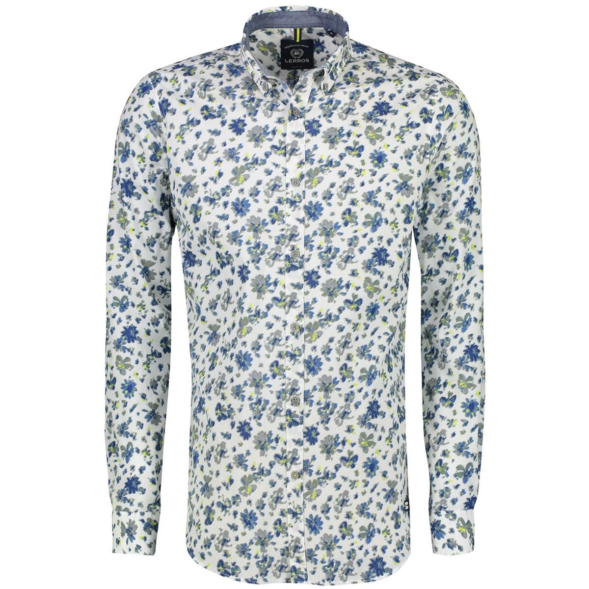 gedessineerd overhemd 29d1115 lerros overhemd 100