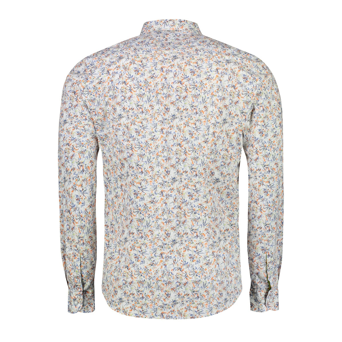overhemd met print 2021133 lerros overhemd 925