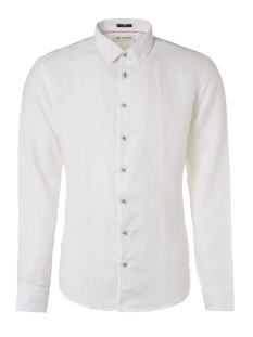 linen shirt 95450207 no-excess overhemd 010 white