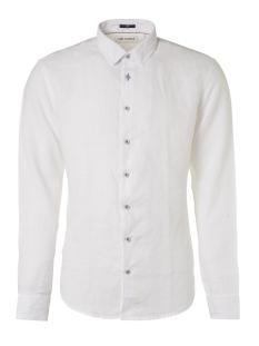 NO-EXCESS Overhemd LINEN SHIRT 95450207 010 White