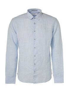 NO-EXCESS Overhemd LINEN SHIRT 95450208 166 Office Blue