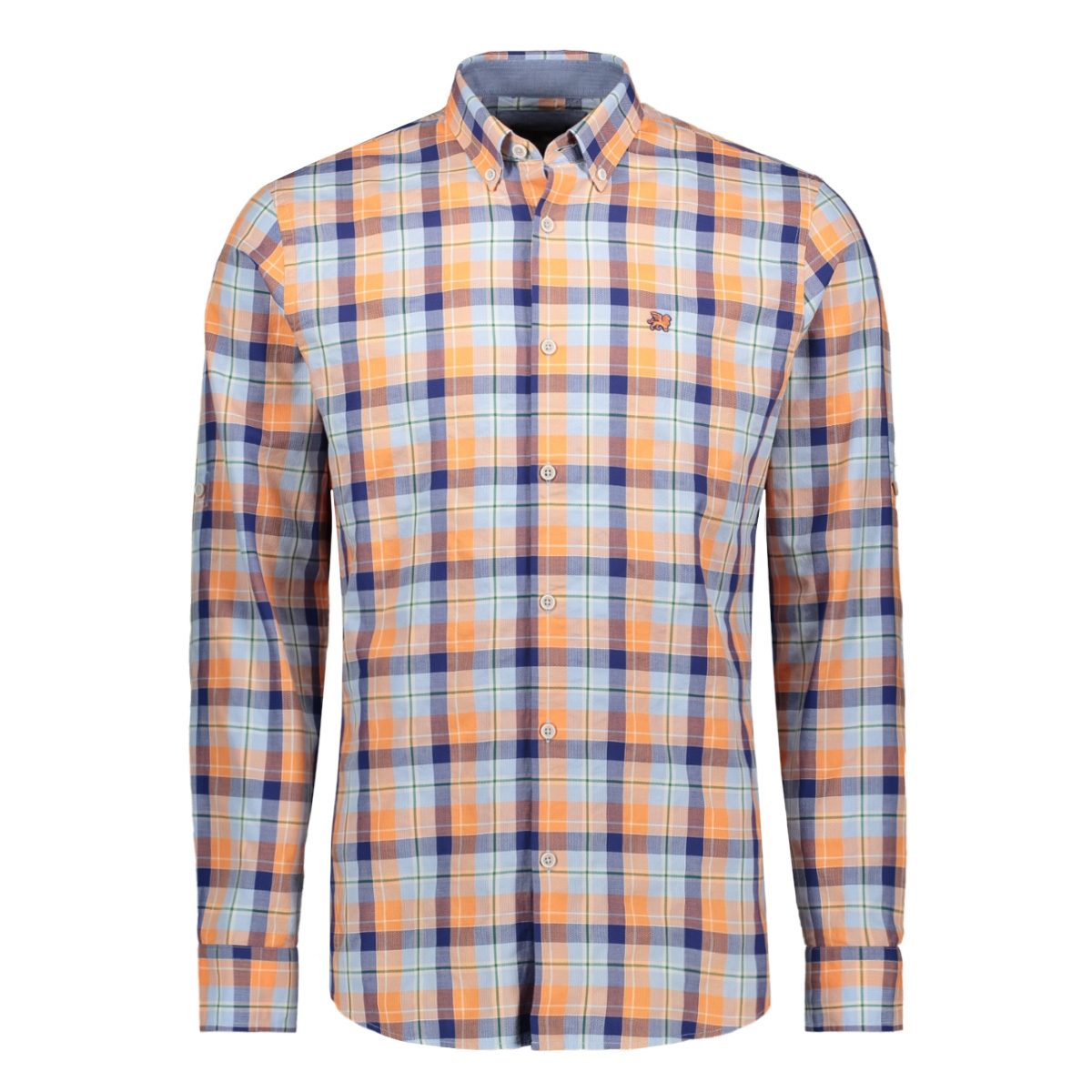 long sleeve shirt check crowan vsi202242 vanguard overhemd 2147