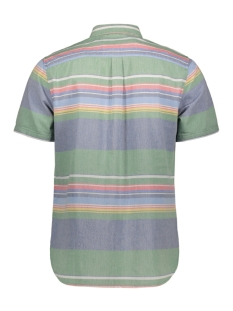 east coast oxford m4010001a superdry overhemd green stripe