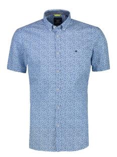 Lerros Overhemd KORTE MOUW OVERHEMD MET MINIMAL PRINT 2022131 417