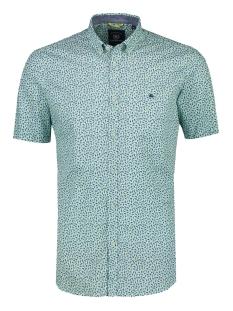 Lerros Overhemd KORTE MOUW OVERHEMD MET MINIMAL PRINT 2022131 617