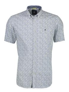 Lerros Overhemd KORTE MOUW OVERHEMD MET MINIMAL PRINT 2022131 850