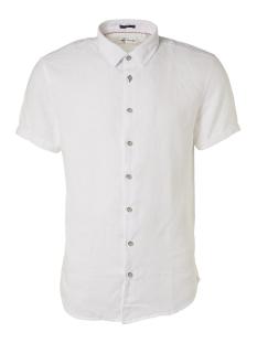linen short sleeve shirt 95460302 no-excess overhemd 010 white